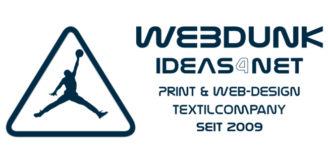 WebDunk|IDEAS4NET – Print- & WebDesign, +Hosting